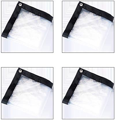 resistente al polvo Wyi Lona impermeable transparente de 2 m x 1 m a prueba de lluvia pesca resistente al agua jardiner/ía aislamiento de polietileno para camping antienvejecimiento