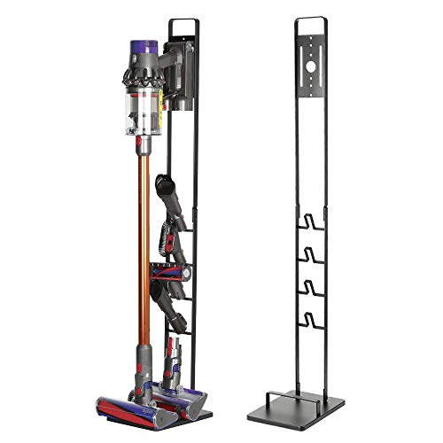 Naconic Vacuum Stand Storage Stable Bracket Holder Compatible with Dyson V6 V7 V8 V10 V11 DC30 DC31 DC34 DC35 DC58 DC59 DC62 DC74 Handheld Cordless Cleaner