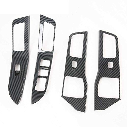 ZpovLE Zubehör für dieAbdeckung desAutofenster-Hebeknopfschalters, passend für Ford Explorer 2020 2021