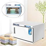 GOTOTOP - Calentador de Toallas 2 en 1, esterilizador UV, esterilizador, Calentador de compresor para salón de Belleza y peluquería, 45 x 39 x 27 cm