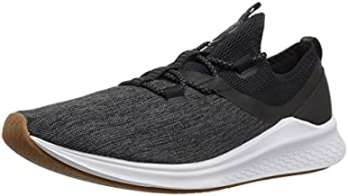 New Balance Women's Fresh Foam Lazr Sport V1 Sneaker, Black/White Munsell, 11 B US