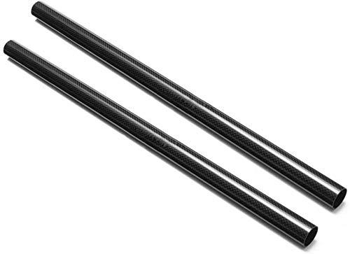 Wzqwzj in Fibra di Carbonio Tubo Tondo 3K Tubo della cavità 500mm, Diametro Esterno 10mm, Diametro Interno 6mm a 9 Millimetri,7mm