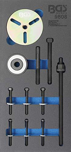 BGS 9808 | Werkstattwageneinlage 1/3: Kurbelwellen-Riemenscheiben-Werkzeug-Satz | für MINI Cooper Motoren W11