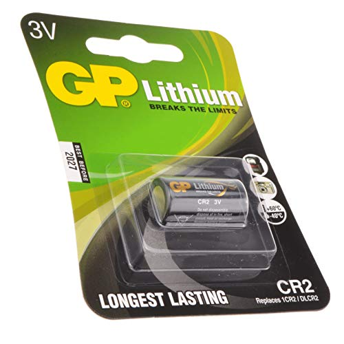GP Photo CR2 3 Volts Batería 920mAH 15,6 x 27,0 mm
