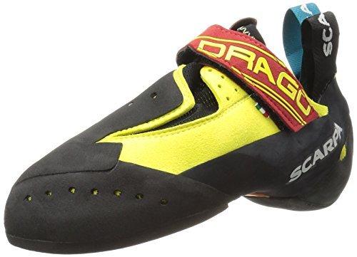 SCARPA Drago Climbing Shoe - Men's Yellow 44