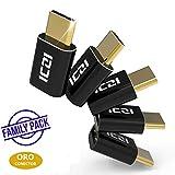 Vantaggio: Usa un esistente cavo mirco USB con dispositivi con porta USB C. Ricarica e Trasmissione i Dati: L'adattatore ICZI micro USB 2.0 a USB C (con-OTG) supporta Sync, transferisci i dati, ricarica i tuoi dispositivi USB C usando il cavo standar...
