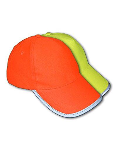 Korntex Kinder KXCAPO54 Basic Cap, High-Viz Orange, One Size