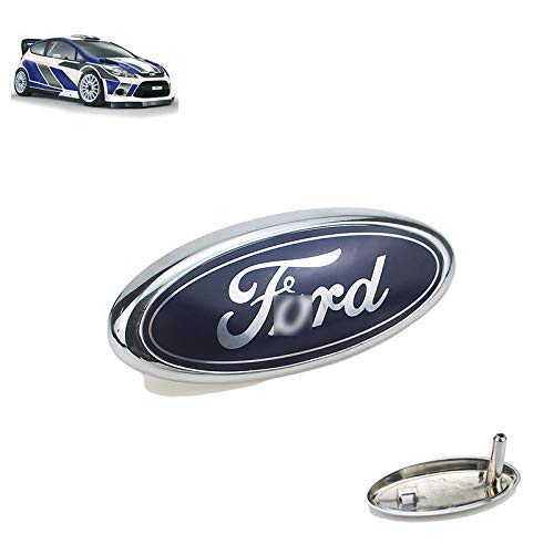 D28JD Logo Emblema para la Parrilla del radiador ABS Letras Pegatina para Ford Focus Mondeo Carnival Escort