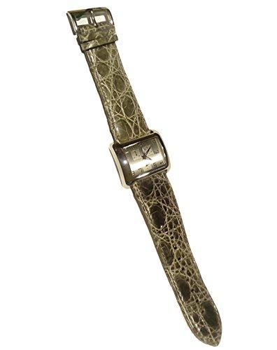 D&G 3719740140 - Reloj de piel de coco verde