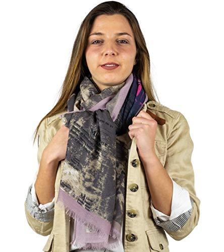 Mer's Style - Sjaal Stempelen Casual Lente, Dames