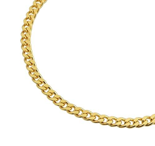 純金 喜平ネックレス K24 2面カット 10g 50cm 引輪 造幣局検定マーク 刻印入り ユニセックス 喜平 チェーン