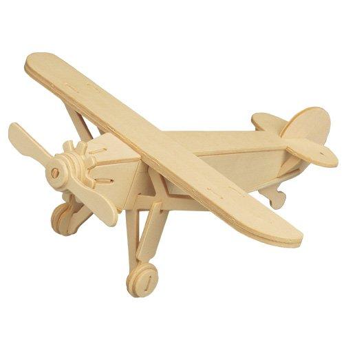 Etna Iława Louis Holzbausatz Flugzeug Flieger Holz Steckpuzzle Holzpuzzle Kinder P073