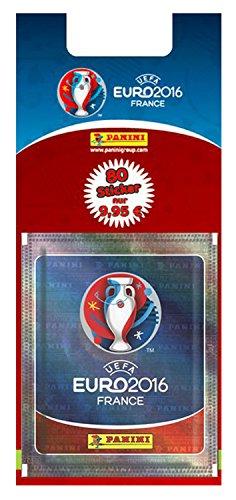 Panini 109958 - Sammelsticker Uefa Euro 2016, 16 Booster, bunt
