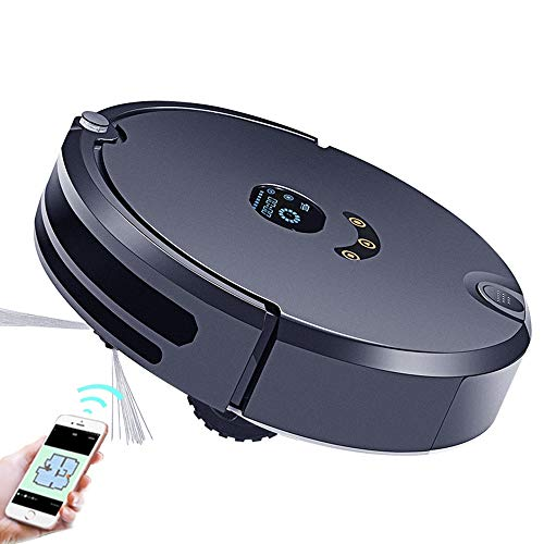 Affordable INSN Remote Control and APP Control Robot Vacuum Cleaner with Anti-Drop & Collision Senso...