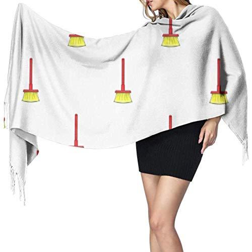 Regan Nehemiah reinigingsgereedschap wasborstel modesjaal goedkope sjaal grote franjessjaal grote zachte Pashmina extra warm
