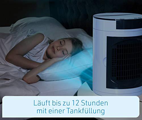 Livington SmartChill Summer-Edition – Klimagerät mit Wasserkühlung – Tragbares Klimagerät mit 3 Stufen – kraftvoller Mini Luftkühler mit Tankvolumen für 12h Kühlung - 6