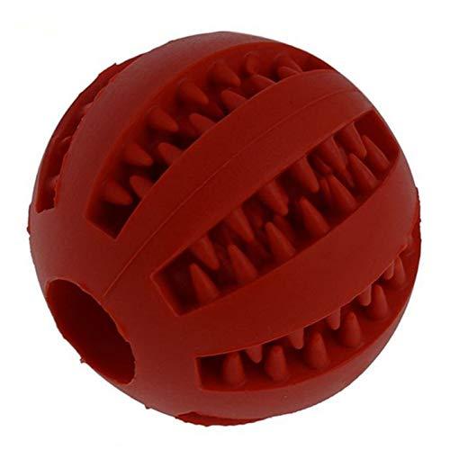 chongwan huisdier hond speelgoed interactieve natuurlijke rubber bal speelgoed grappige interactieve elastiek schoon tanden spelen ballen honden kauwen speelgoed