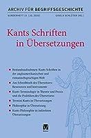 Kants Schriften in Uebersetzungen