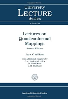 Lectures on Quasiconformal Mappings (University Lecture Series)