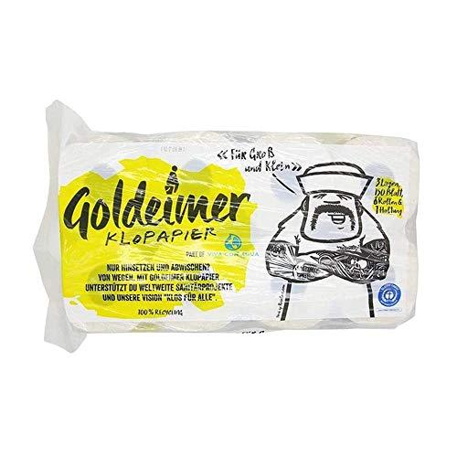 Goldeimer Toilettenpapier - 3lagig 150Blatt (4erPack)
