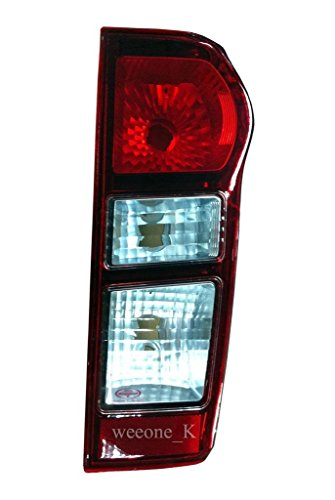 K1AutoParts 1 Right Side Rear Taillights Tail Light Lamps (Normal Type) For Isuzu D-max Dmax 2012 2013 2014
