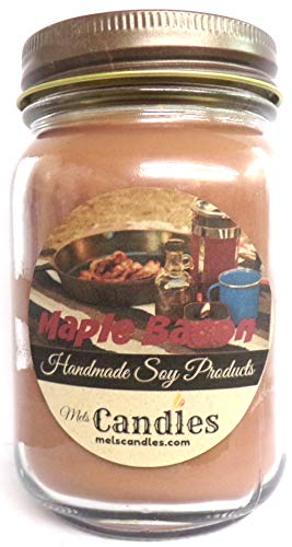 Maple Bacon 16 oz Soy Candle - Hand Made in The USA