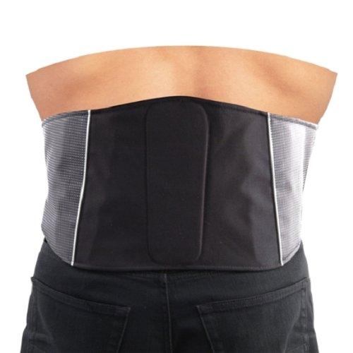 Roleff Faja Lumbar para Motorista Racewear, Negro, XXL