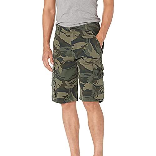 Herren Arbeitsshorts Camouflage Baumwolle Sommer Sport Shorts Mit Taschen Shorts Sind Leicht, Schnell Trocknend Und Bequem,B,L