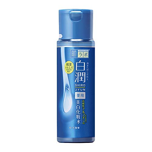 Rohto Hada Labo Arbutin Whitening Lotion Shirojyun 170ml Skin Care JAPAN