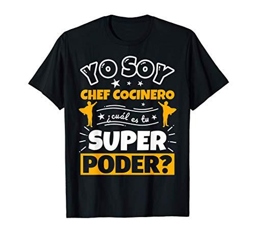 Chef Cocinero regalo divertido con decir Camiseta