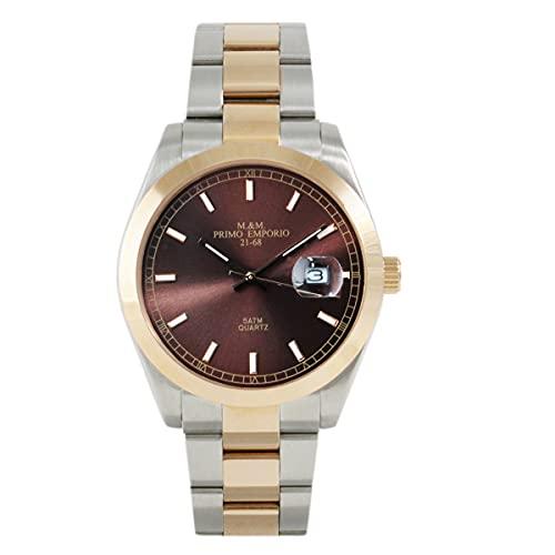 M&M - Reloj primer Emporio bicolor de acero 1102CO