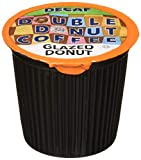 Double Donut Medium Roast Decaf Coffee Pods, Glazed Donut Flavored, for Keurig K-Cup Machines, 80 Single-Serve Capsules per Box