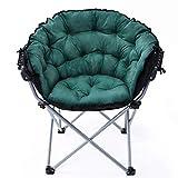 Axdwfd Tumbona Silla de salón, sillón Plegable y Perezoso Silla reclinable de Radar Silla de salón (Color : Green)