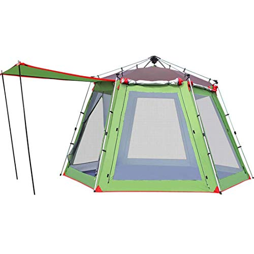 SPFAZJ TentTents Outdoor 3-4 People 5-8 People Camping Tents Camping Equipment Beach Sunscreen Barraca Gazebo Tent