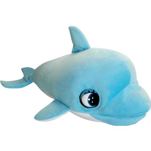 IMC TOYS Blu azul delfín de peluche (diseño de animales 8421134007031)