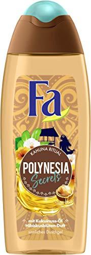 FA Duschgel Polynesia Secrets Kahuna Ritual mit Kukuinuss-Öl und Hibiskusblüten-Duft, 6er Pack (6 x 250 ml)
