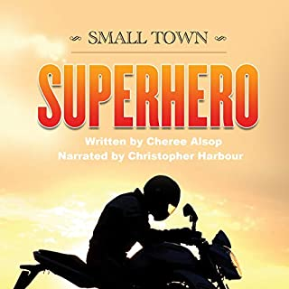 Small Town Superhero audiobook cover art
