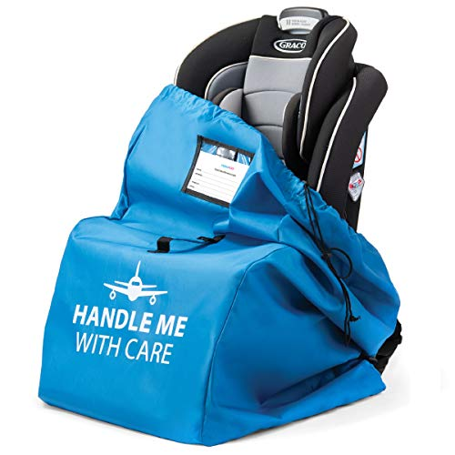 Car Seat Bag for Airplane with Pouch | Carseat Travel Bags...