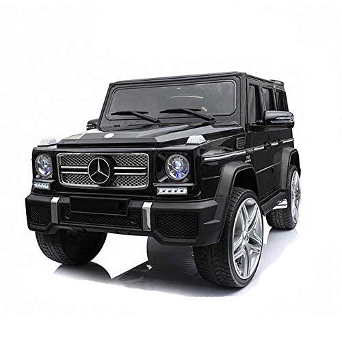 SELMAL Paseo en el Coche, con Licencia Mercedes Benz G65 12V con Pilas del Coche eléctrico con 2,4 GHz Bluetooth Parental Remoto Control y la suspensión de Primavera Faros LED