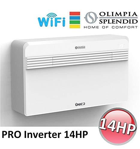NEU OLIMPIA SPLENDID UNICO PRO INVERTER 14 HP WiFi KLIMAANLAGE Kühlen Heizung