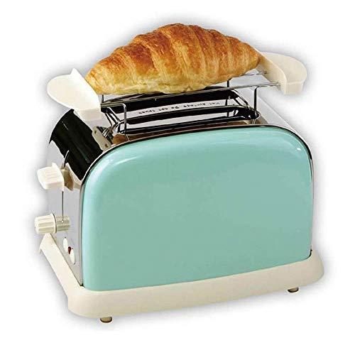 DYB Máquina de Desayuno compacta y rápida para el hogar Máquina de Desayuno multifunción de pequeña Potencia 2 Piezas de Pan Capacidad de 1000 w Potencia Engranajes múltiples para Todo Tipo de Pan