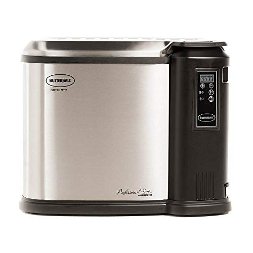 Masterbuilt Butterball XXL Digital Electric 22 Pound Turkey Fryer, Platinum