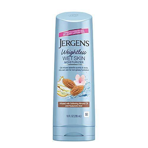 Jergens Wet Skin Cherry Almond Oil Moisturizer, 10 Fl...