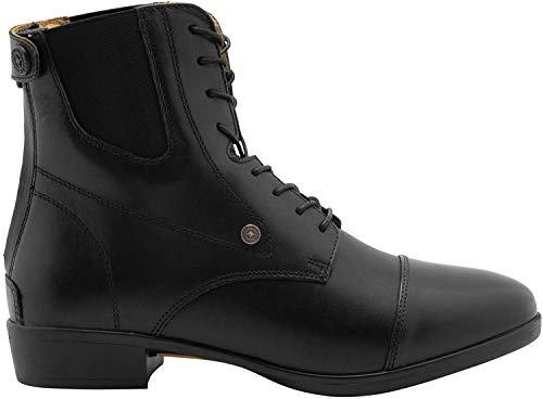 Stiefelette »ADVANCED II BZ LACE« mit Schnürung u. Reißverschluss. Bequeme Reitschuhe aus Echtleder mit OrthoLite Sohle | Tolle Passform | Stiefel-Schuh Größen 35-46 | Farbe: Schwarz & braun