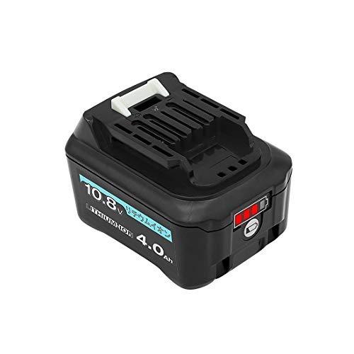 【THiSS】マキタ bl1015 10.8V/12V 互換バッテリー bl1040b 4.0Ah 容量アップ makita 10.8v 充電式クリーナ CL107FDZW CL107FDSHW 充電式ファン CF101DZ など適用 リチウムイオン電池