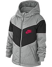 Nike Synthetic-Fill - Chaqueta de niño, color gris, cód. CU9157-077