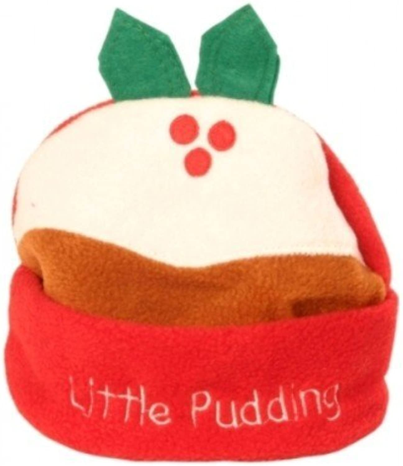Little Pudding Hat Fleece with Embro by CC