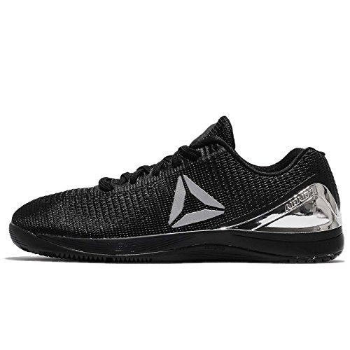 Reebok Herren Crossfit Nano 7.0 Sneaker, Black/Silver Met - Größe: 43 EU