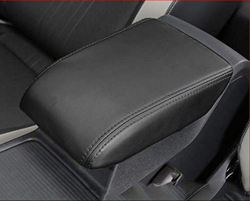 MLING Cubierta para reposabrazos de coche, accesorio para reposabrazos, compatible con Golf 8 MK8 2020 2021 (negro)