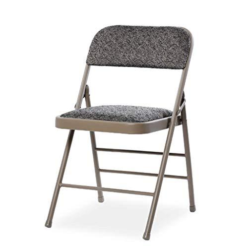 Household Necessities/klapstoel, voor zittende personen, conferenties, kantoor, zakenpartner, ontvangst, woonkamer, ligstoel, hangstoel 250 kg 40*41*77CM grijs.